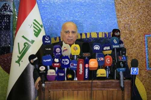 Iraqi Finance Minister Fuad Hussein in Baghdad, Iraq on 25 September 2018 [Haydar Karaalp/Anadolu Agency]