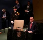 Erdogan in New York to attend UN General Assembly