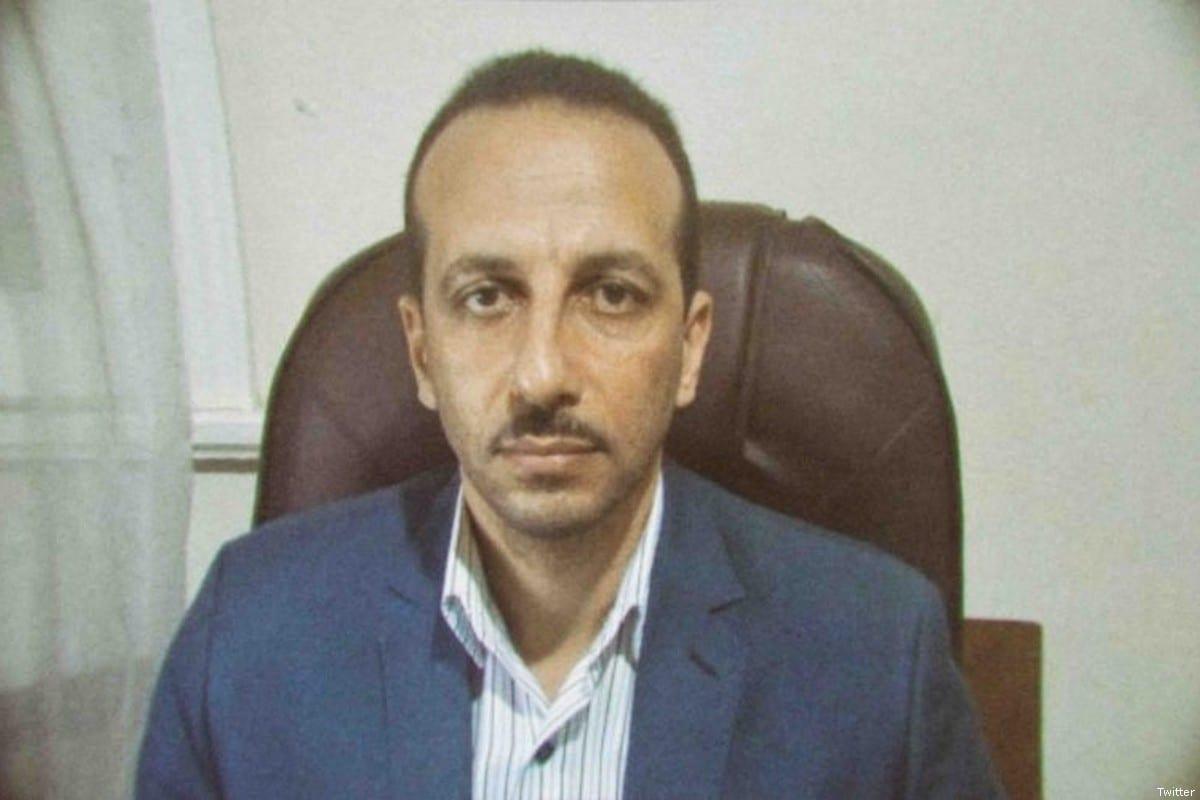 Human Rights lawyer Ezzat Ghoneim [AzzaElGarfTwitter]