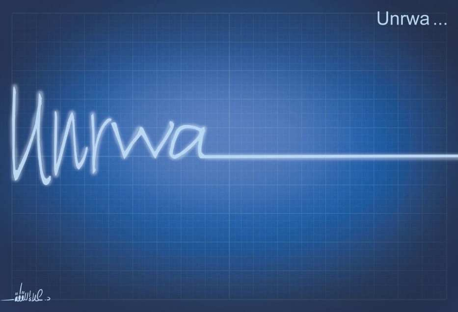 UNRWA's lifeline is decreasing due to the cuts made by the Trump administration [AlArabi21News/Twitter]