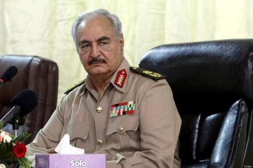 Libyan General Khalifa Haftar [Twitter]