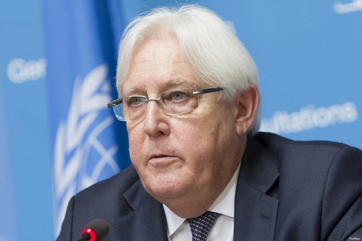 UN envoy for Yemen Martin Griffiths [File photo]