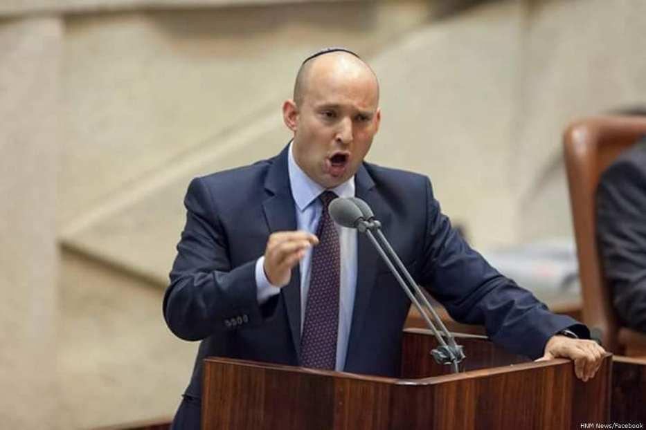 Israeli Education Minister, Naftali Bennett [HNM News/Facebook]