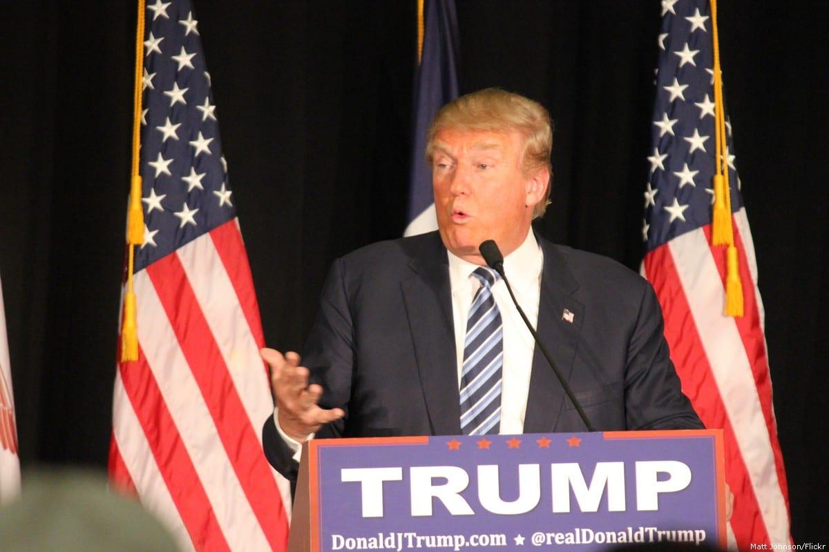 US President Donald Trump [Matt Johnson/Flickr]