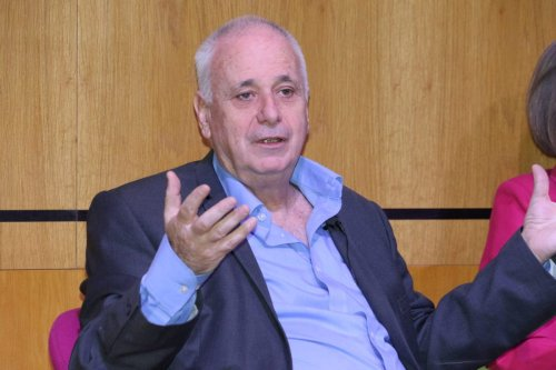 Prof Ilan Pappe speaking at Middle East Monitor's 'Oslo at 25' conference held in London on September 29, 2018 [Jehan Alfarra / Middle East Montitor]