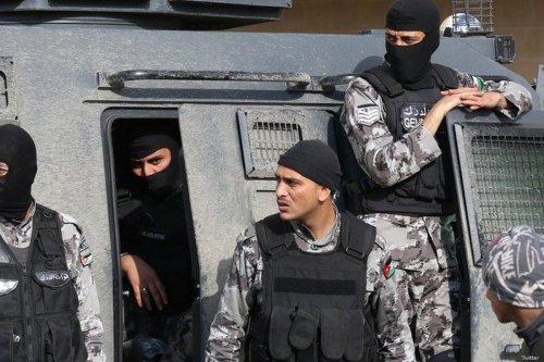 Jordanian security forces [Twitter]
