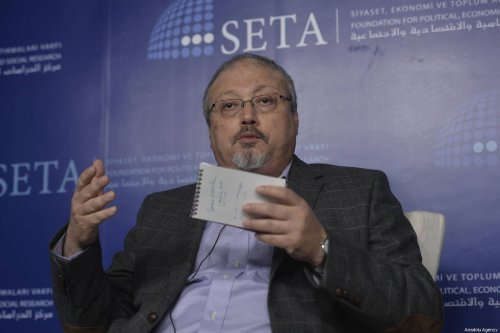 A file photo dated March 26, 2015 showing Prominent Saudi journalist Jamal Khashoggi in Ankara, Turkey [Gökhan Balcı/Anadolu Agency]
