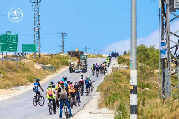 Cycling for Palestine [Cycling for Palestine/Facebook]