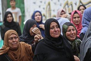 Ashraf Al-Qudra, 25-year-old Naji Jamal Al-Za'anin was killed in the northern Gaza Strip [Mohammed Asad/Middle East Monitor]