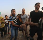 Israel wounds 130 Palestinian protesters in Gaza