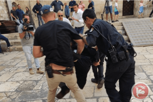Jew Detector: Israel Forces Assault Coptic Christian Priest During