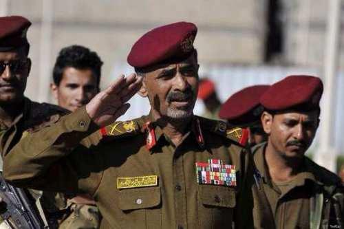 Detained Yemeni Defence Minister Major General Mahmoud Al-Subaihi [Twitter]
