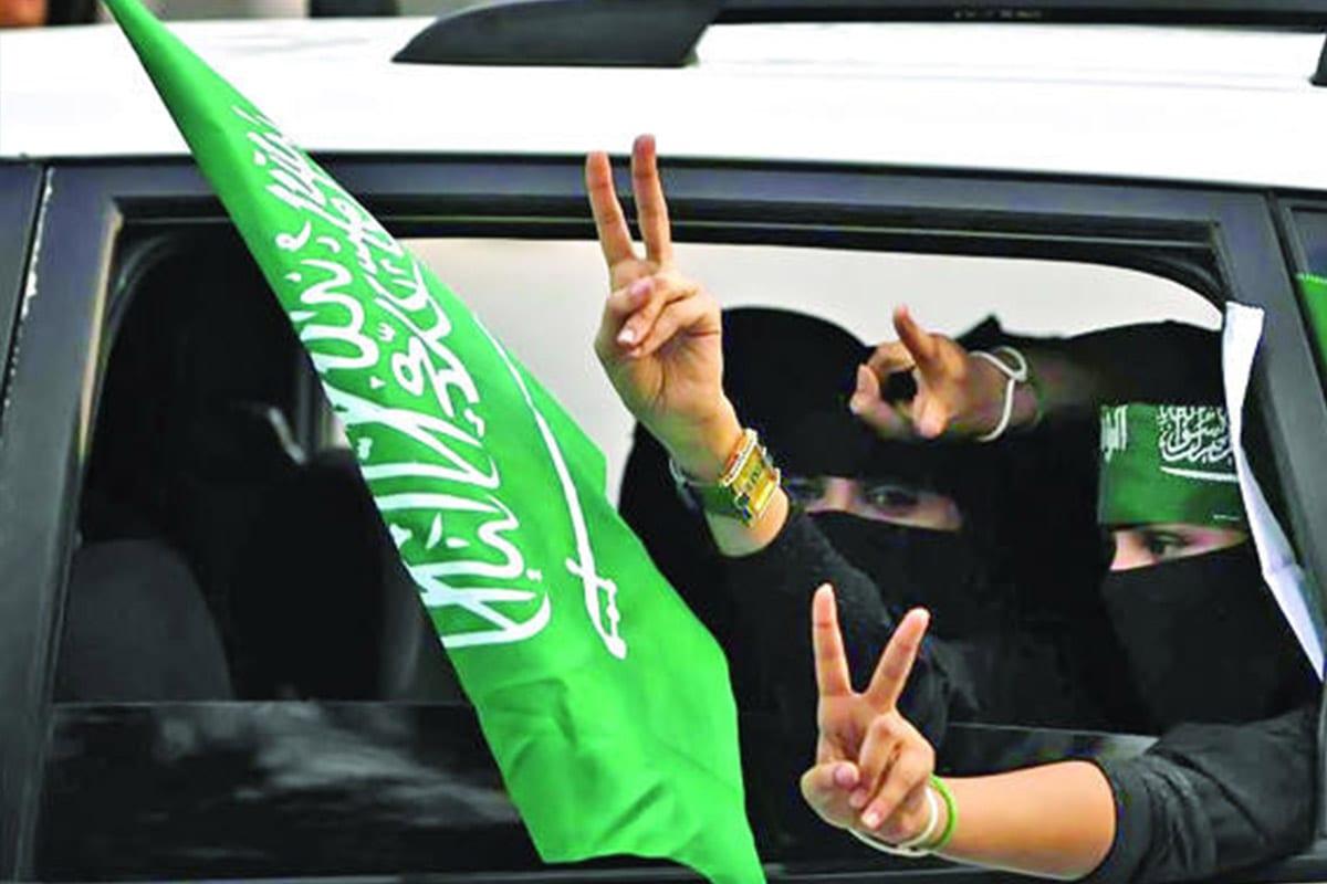 Saudi women can drive [Twitter]