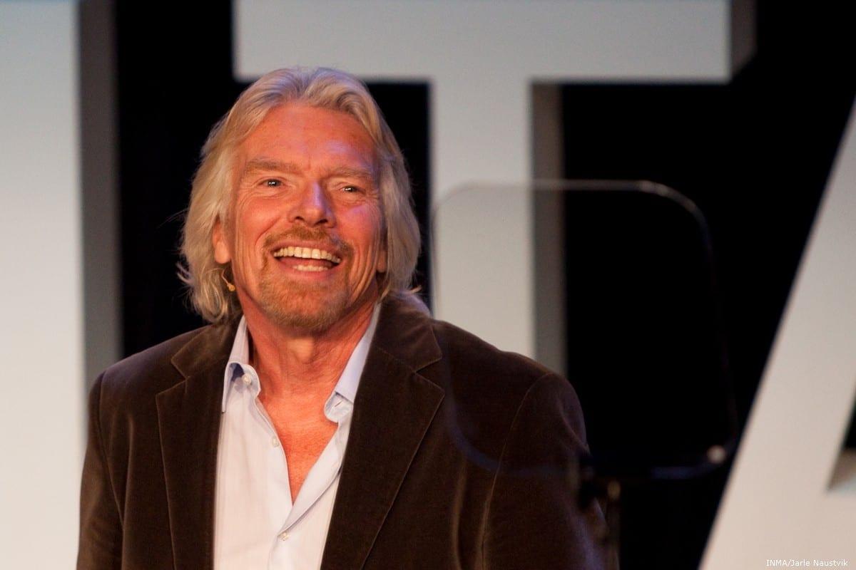 British billionaire Richard Branson