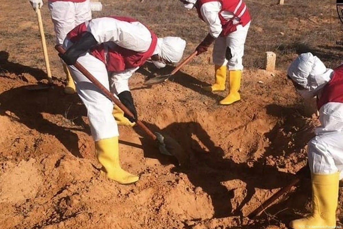 Libya: Mass grave found south of Tripoli