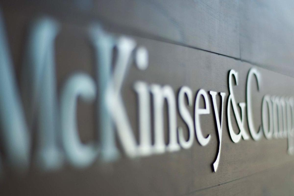 Logo of the US consulting giant, McKinsey & Company [mckinsey.co.cr]