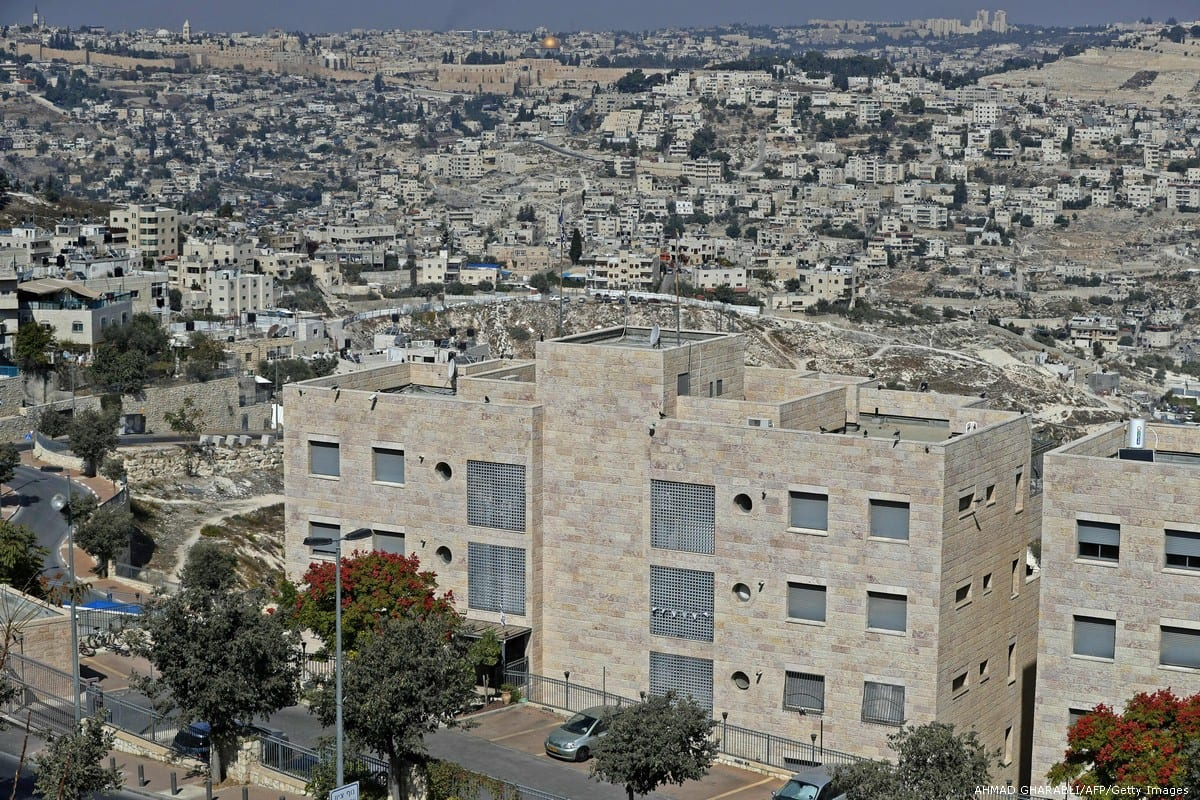 Israeli settlements in Jerusalem on 25 October 2017 [AHMAD GHARABLI/AFP/Getty Images]