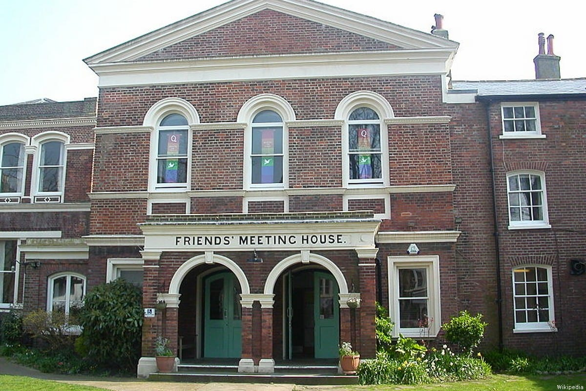 A Quaker meeting house -owned and set up by the Quakers. 31 March, 2007 [Wikipedia]