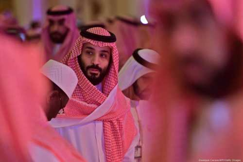 Saudi Crown Prince Mohammed bin Salman in Riyadh, Saudi Arabia on 24 October 2018 [Giuseppe Cacace/AFP/Getty Images]