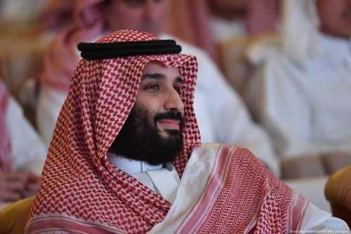 Saudi Crown Prince Mohammed bin Salman in, Riyadh, Saudi Arabia on 23 October 2018 [Fayez Nureldine/AFP/Getty Images]