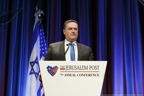 Israeli Foreign Minister Yisrael Katz at the New York Marriott Marquis Hotel in New York City, US on on 29 April 2018 [noa grayevsky/Getty Images for RSL Management Corpnoa]
