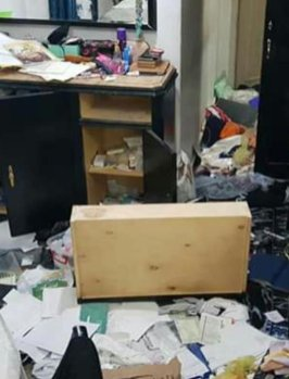 Egyptian security forces entered the apartment of 60-year-old Hoda Abdelmonem, legal advisor to the Egyptian Coordination for Rights and Freedoms (ECFR), and trashed her belongings.