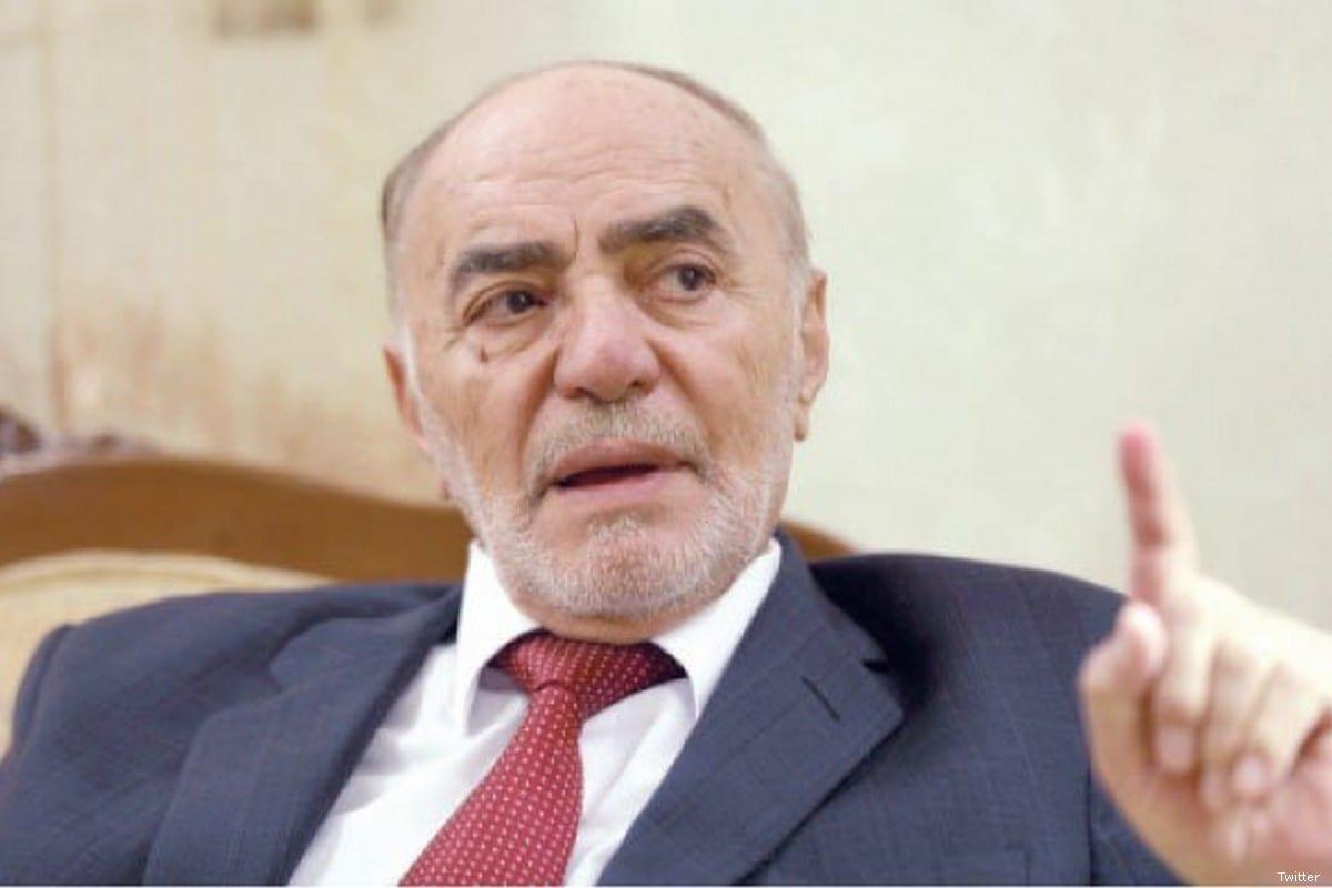 Former Jordanian Parliament President Abdul Latif Arabiyat [Twitter]