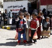UN delivers food for 9.5 million in Yemen last month