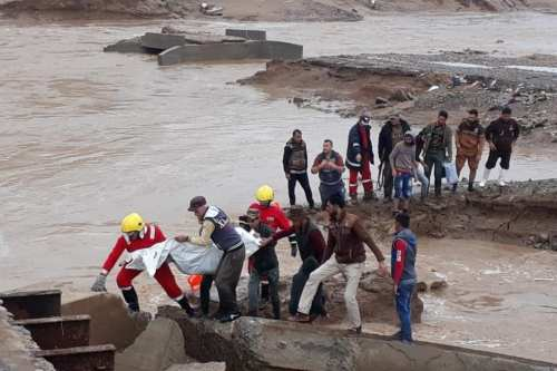 Some 3,000 Iraqis were left homeless after floods hit the Shirqat region. 23 November 2018