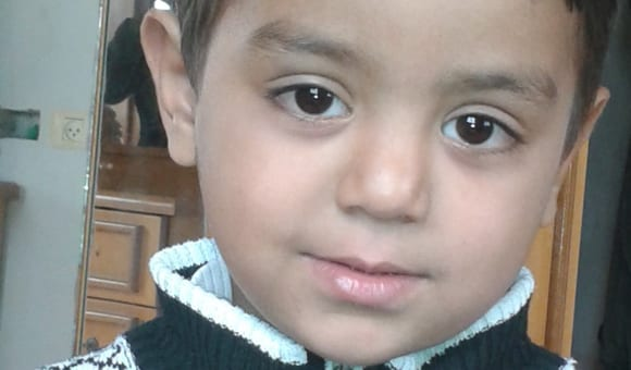 4-year-old Ahmad Yasser Sabri Abu Abed succumbed to his wounds four days after bullet fragments fired by soldiers at protesters struck him in the head, chest and abdomen on 11 December 2018 [DCI-P]