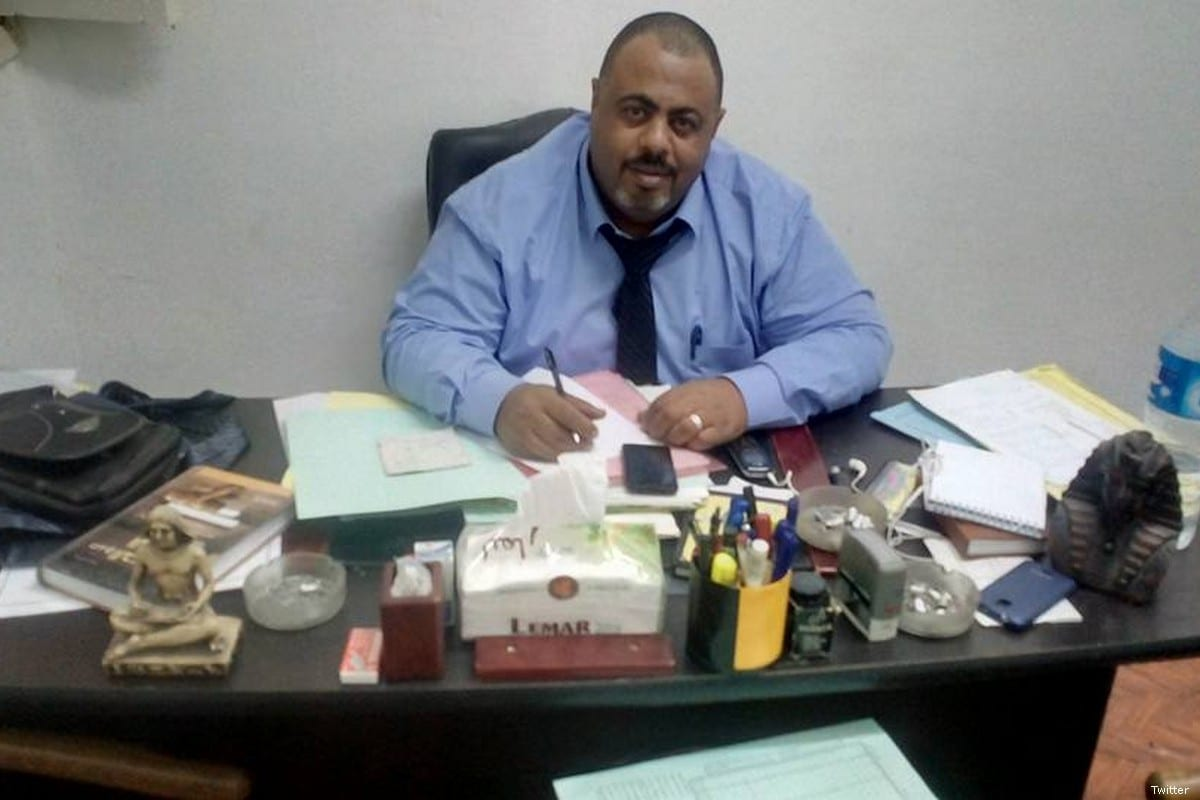 Egyptian Human rights lawyer Mohammed Ramadan [Twitter]