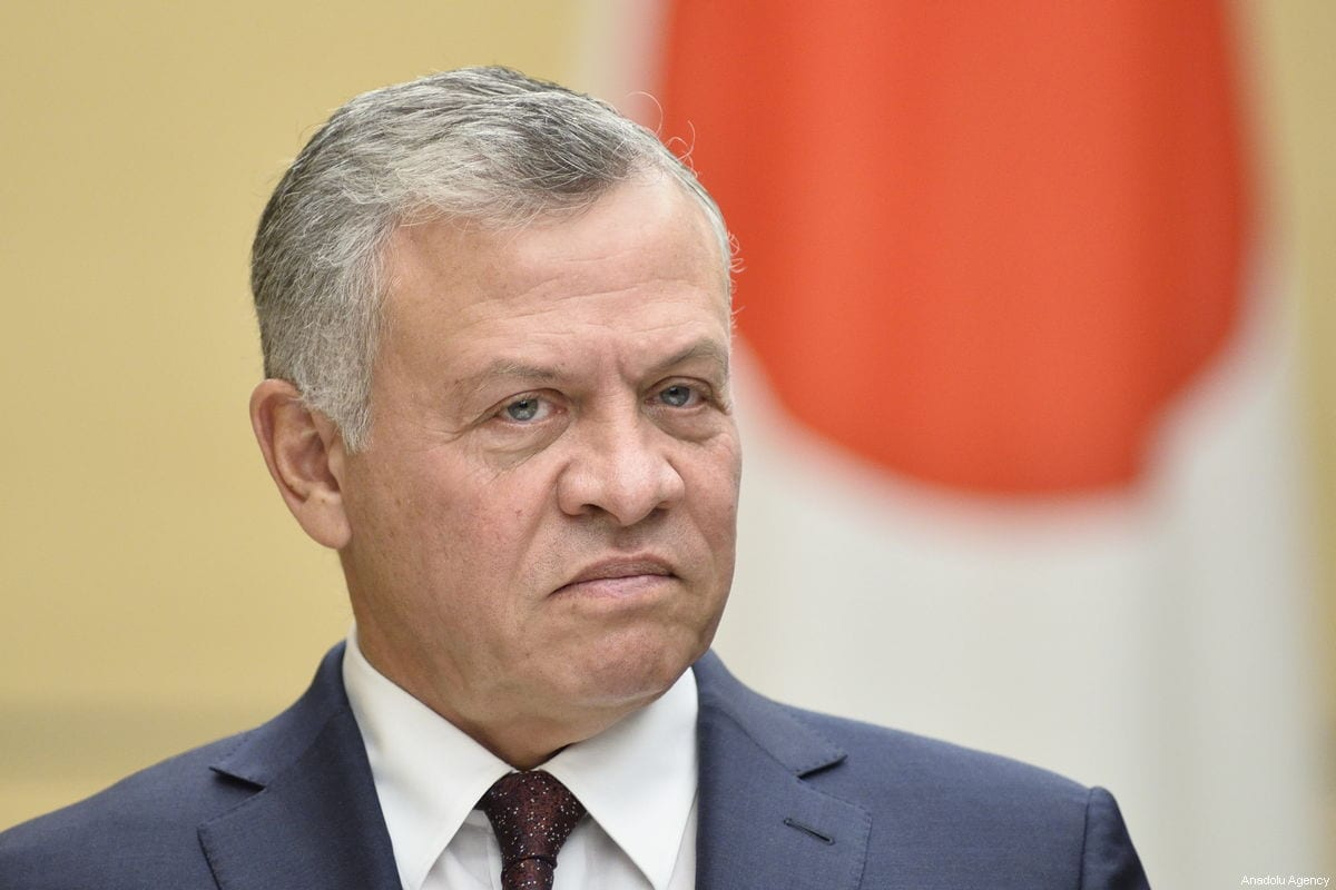 King Abdullah II of Jordan in Tokyo on 27 November 2018 [David MAREUIL/Anadolu Agency]