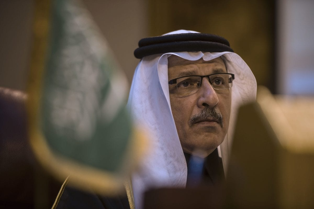 The then-Saudi ambassador to Egypt Ahmed Qattan attends an emergency meeting of the Arab League foreign ministers in the Egyptian capital Cairo, on December 24, 2015 [KHALED DESOUKI/AFP/Getty Images]