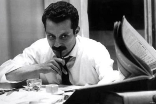 Late Palestinian novelist Ghassan Kanafani [Twitter]