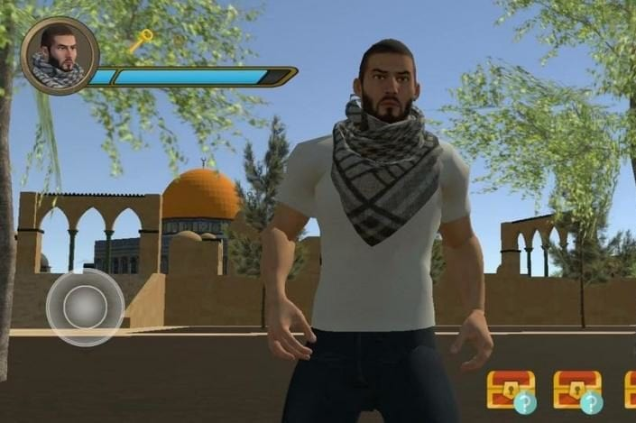 Al-Aqsa Mosque Guard video game [Facebook]