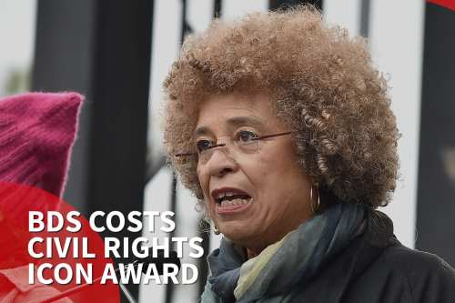 US civil rights activist denied award due to support for BDS