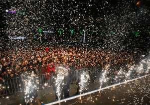 Turkey celebrating New Years Eve on 1 January 2019 [Evren Atalay/Anadolu Agency]