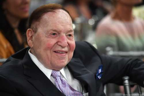 Sheldon Adelson attends Friends of The Israel Defence Forces (FIDF) gala in California, US on 1 November 2018 [Photo by Shahar Azran/Getty Images]