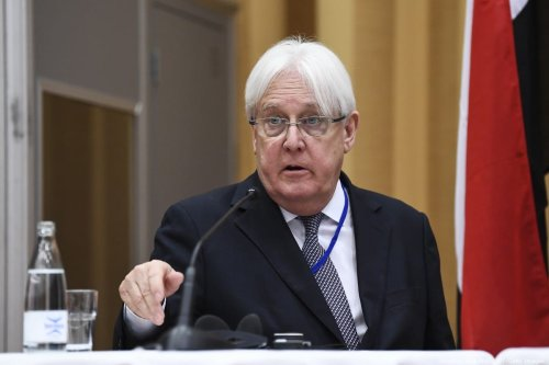 UN special envoy to Yemen Martin Griffiths in Sweden, on 13 December 2018 [Jonathan Nackstrand/AFP/Getty Images]