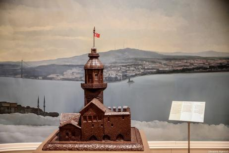 An interior view of Chocolate Museum, which opened its doors in 2013 and takes its visitors on an adventure starting with the history of chocolate-making, in Istanbul, Turkey on January 07, 2019. ( Ahmet Bolat - Anadolu Agency )
