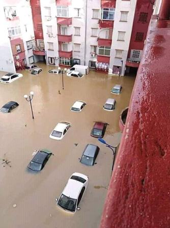 Floods kill five in snow-hit Algeria [Facebook]