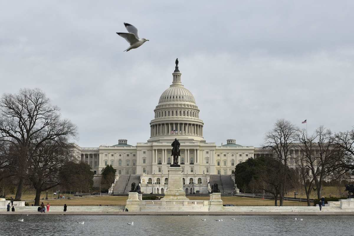 The US Capitol is seen in Washington, DC on 22 January 2018 [MANDEL NGAN/AFP/Getty Images]