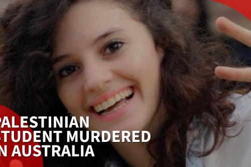Palestinian student murdered in Australia
