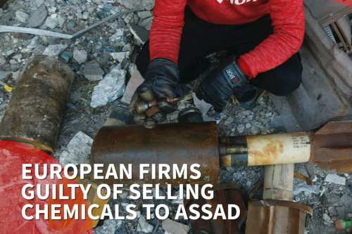European firms guilty of selling chemicals to Assad