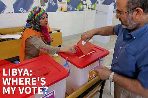 thumbnail - 60% of Libya has no funding to hold election