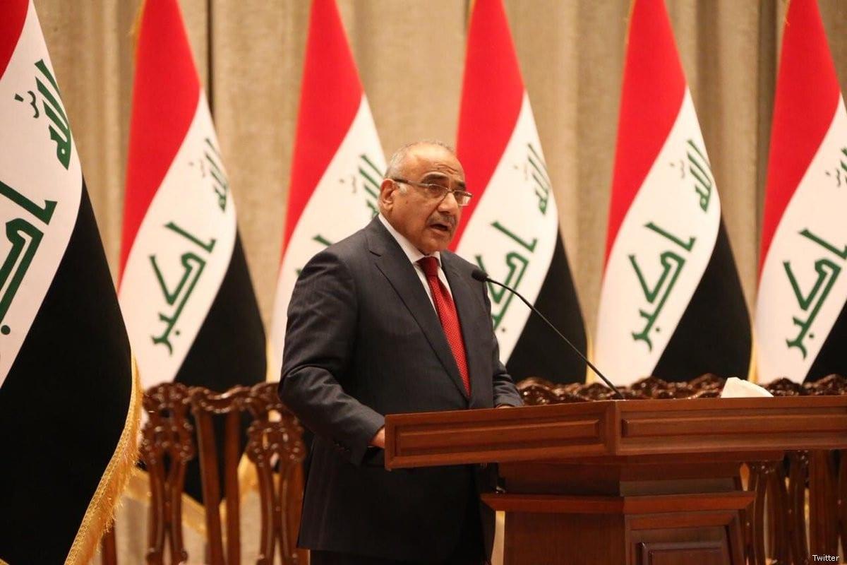 Adil Abdul-Mahdi Prime Minister of Iraq [Twitter]