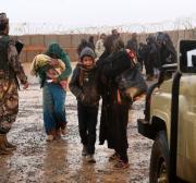 Syrians stranded near Jordan border await aid corridor