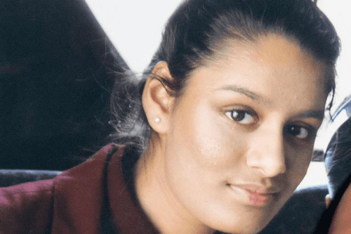 Shamima Begum, 19-year-old British teenager who joined Daesh in Syria four years ago [Twitter]