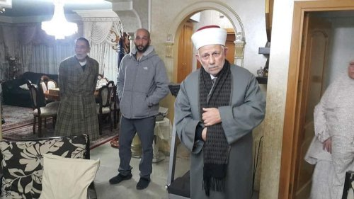 Sheikh Abdu Azim Salhab, Head of the Endowment (al Qawf) Council in Jerusalem