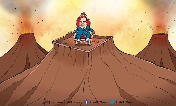 Constitutional proposals could allow Sisi to stay in power till 2034 - Cartoon [AlArabi21News]